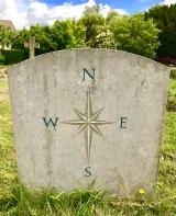 Patrick Leigh Fermor - gravestone, back